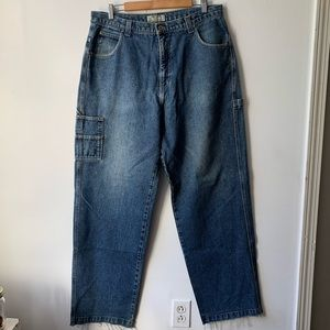 90s guess baggy carpenter jeans